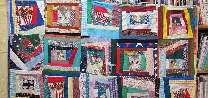 Quilt by Wini Alexander - photo by Karen Alexander 700 x 330