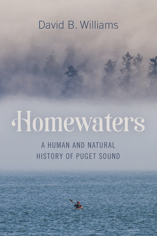 Cover of the book Homewaters by David B. Williams